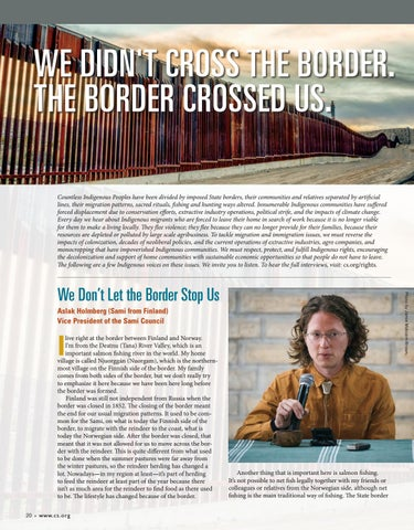 Page 22 of We Did Not Cross the Border, the Border Crossed Us