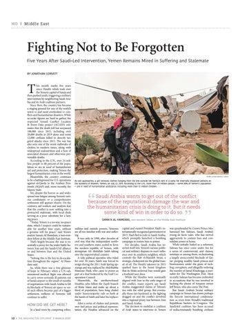 Page 12 of YEMEN'S TRAGEDY