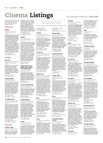 Page 30 of CINEMA LISTING