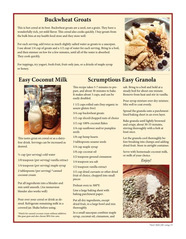 Page 19 of Sandy's Food for Tought