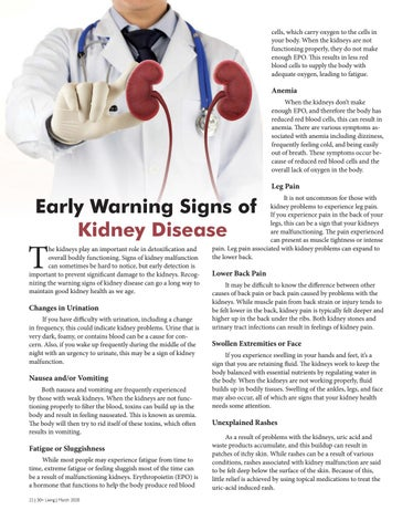 Page 22 of EarlyWarning Signs of Kidney Disease