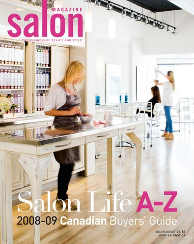 Salon Magazine July August 2008 By Salon Communications Inc Issuu