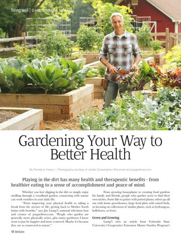 Page 16 of Gardening Your Way to Better Health