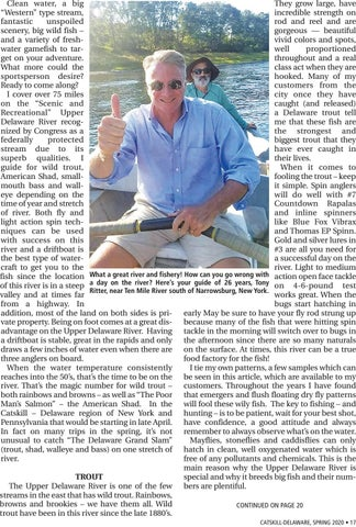 Page 17 of The Upper Delaware fishing report for 2020