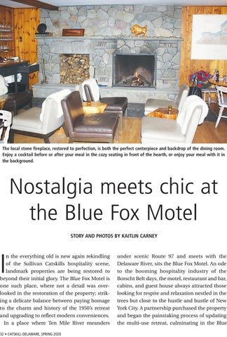 Page 32 of Nostalgia meets chic at the Blue Fox Motel
