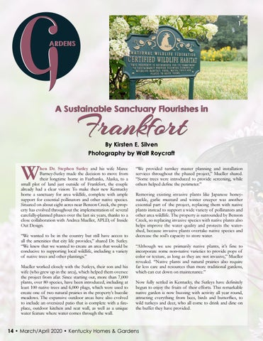 Page 16 of GARDEN: A Sustainable Sanctuary in Frankfort