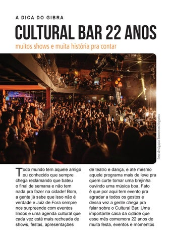 Page 18 of Cultural Bar 22 anos