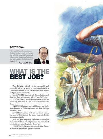 Page 44 of Devotional WHAT IS THE BEST JOB?