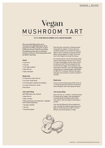 Page 39 of Vegan Mushroom Tart