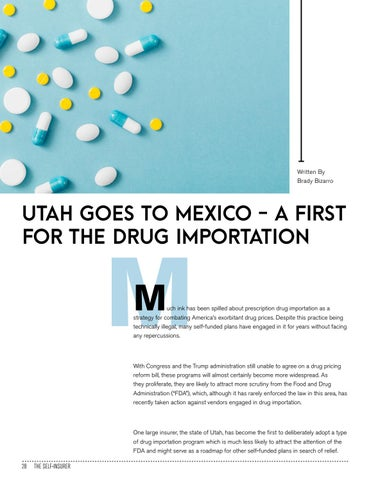 Page 28 of UTAH GOES TO MEXICO - A FIRST FOR THE DRUG IMPORTATION