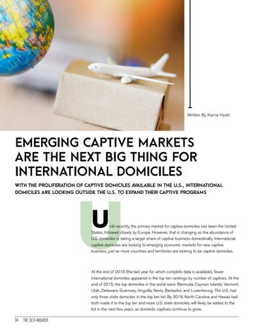 Page 34 of EMERGING CAPTIVE MARKETS ARE THE NEXT BIG THING FOR INTERNATIONAL DOMICILES