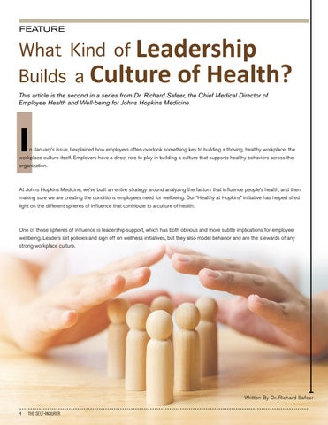 Page 4 of WHAT KIND OF LEADERSHIP BUILDS A CULTURE OF HEALTH?