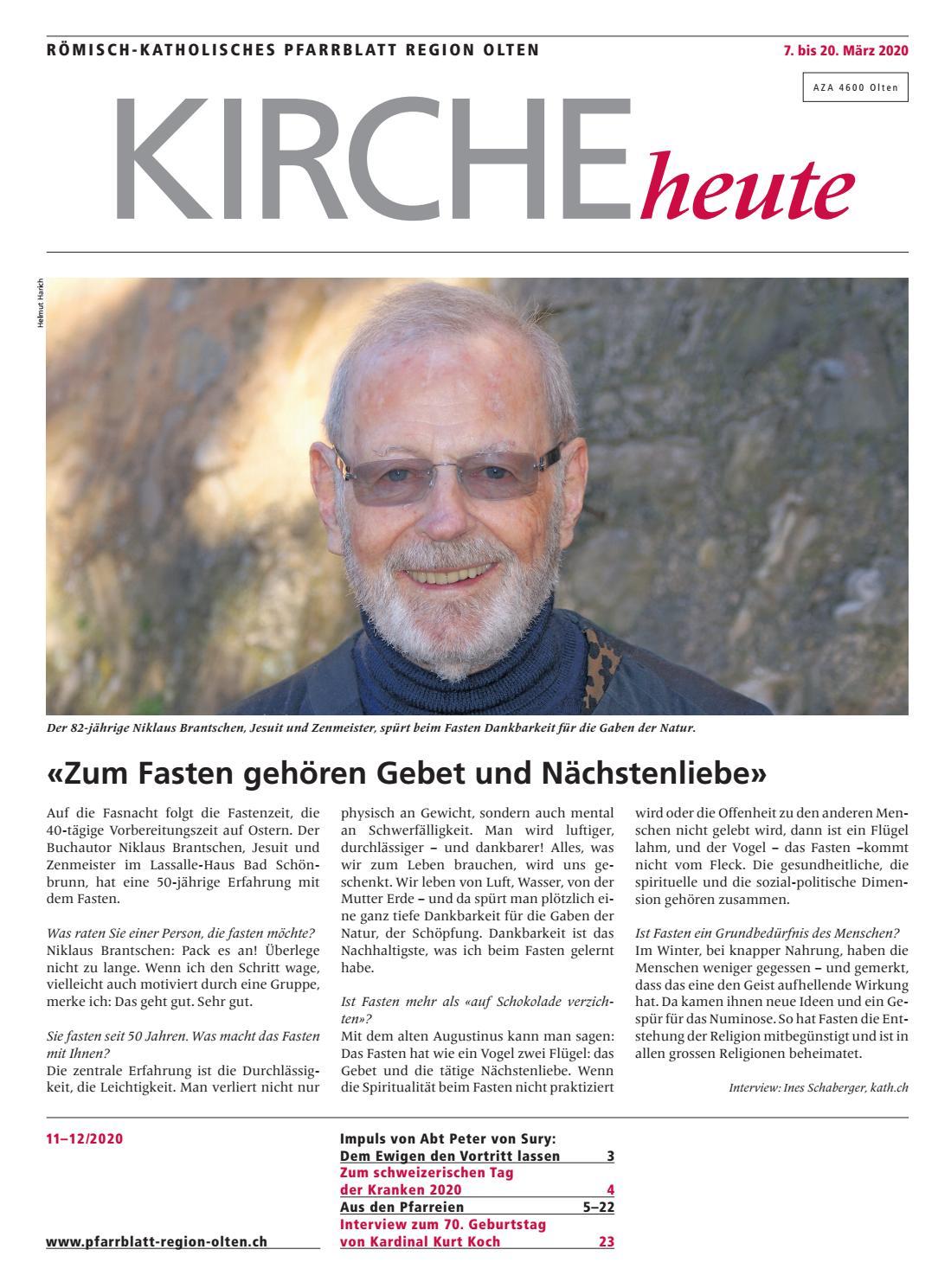 Kirchenblatt Solothurn 2319 by Kirchenblatt Solothurn - issuu