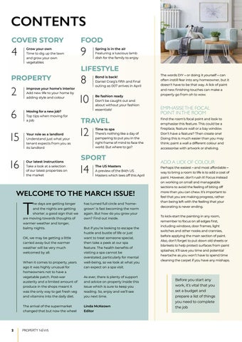 Page 2 of Improve your home's interior