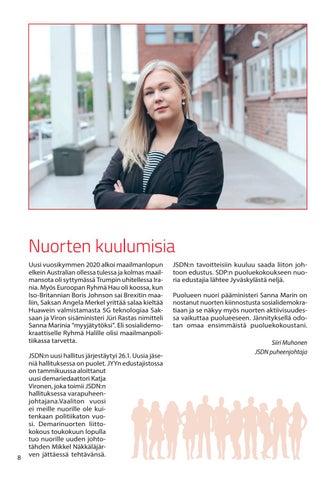 Page 8 of Nuorten kuulumisia