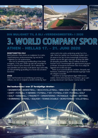 Page 30 of 3. World Company Sport Games