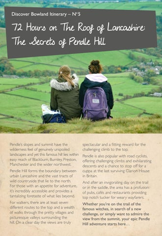 Page 14 of Secrets of Pendle Hill Itinerary
