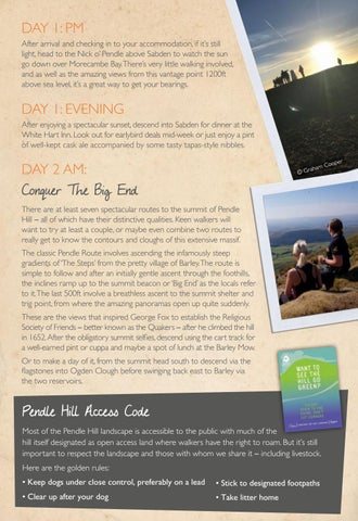 Page 15 of Secrets of Pendle Hill Itinerary