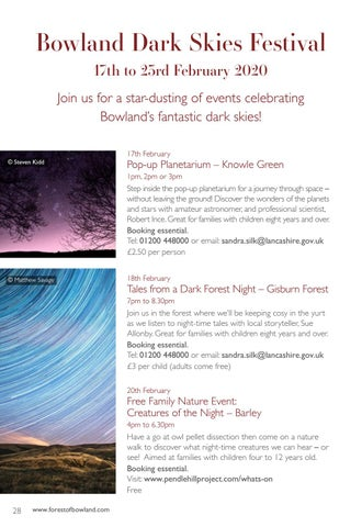 Page 28 of Bowland Dark Skies Festival