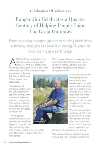 Page 62 of Celebration Of Volunteers Jim Eastham