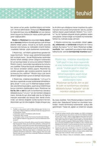 Page 19 of MÜSLİM İLE MÜSLÜMAN BİRBİRİNDEN NASIL FARK EDİLEBİLİR? Feriduddîn AYDIN