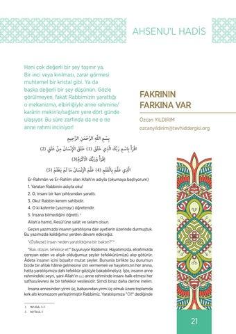 Page 21 of FAKRININ FARKINA VAR Özcan YILDIRIM