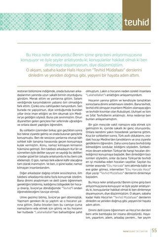 Page 55 of CAHİLEYEDEN İSLAM'A: BİR HİCRET ÖYKÜSÜ Abdurrahim MERCAN