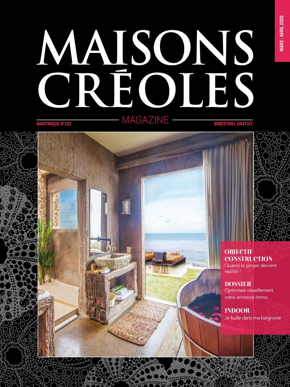 Magazine Maisons Creoles N 132 Martinique By Magazine Maisons
