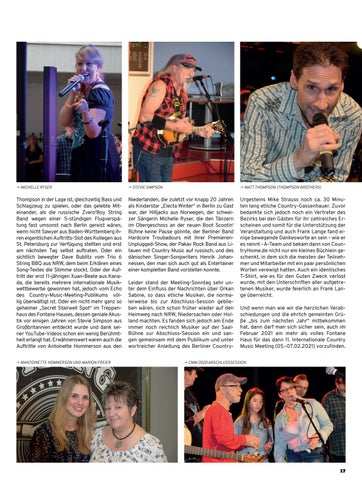 Page 17 of 10. Country Music Meeting Berlin