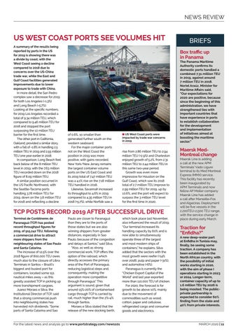 Page 11 of US West Coast Ports see
