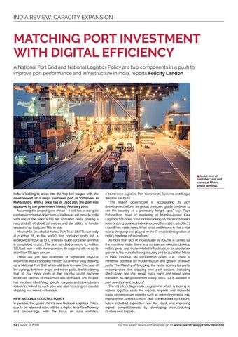 Page 24 of Matching Port Investment with Digital Efficiency
