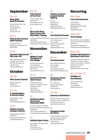 Page 7 of Calendar of Events