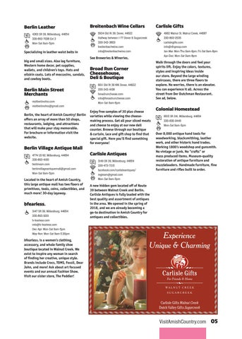 Page 9 of Attractions, Shops & Artisans