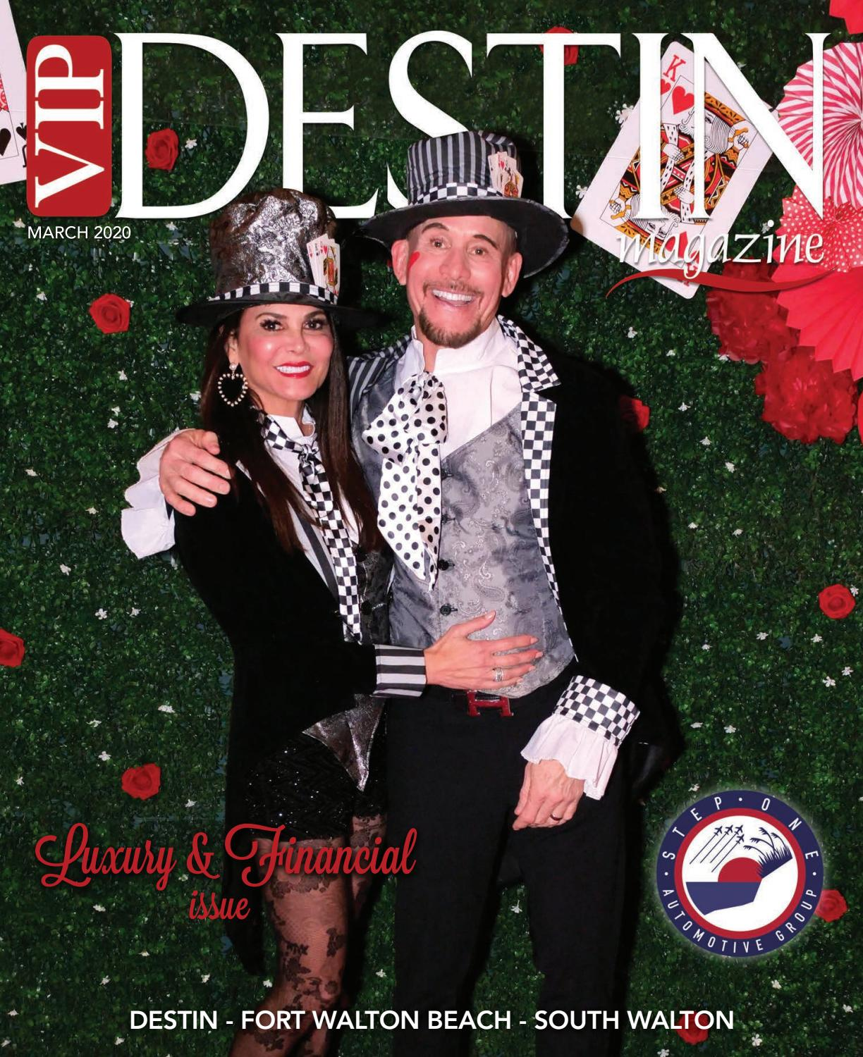 Destin Christmas Brunches 2020 VIP Destin Magazine, March 2020 by VIP Destin, LLC   issuu