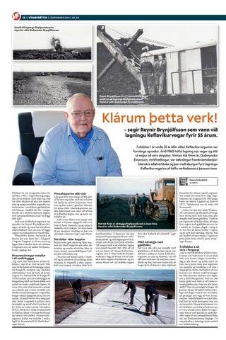 Page 12 of Klárum þetta verk! – segir Reynir Brynjólfsson sem vann við lagningu Keflavíkurvegar fyrir 55 árum.