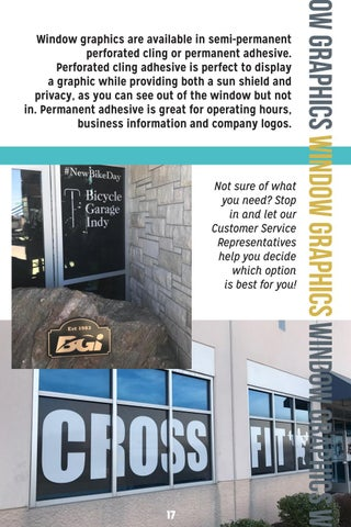Page 19 of window graphics