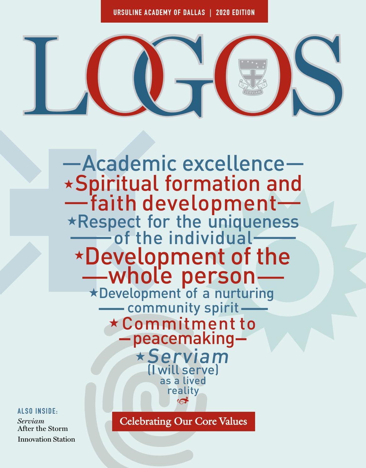 LOGOS 2020 by Ursuline Academy of Dallas - issuu