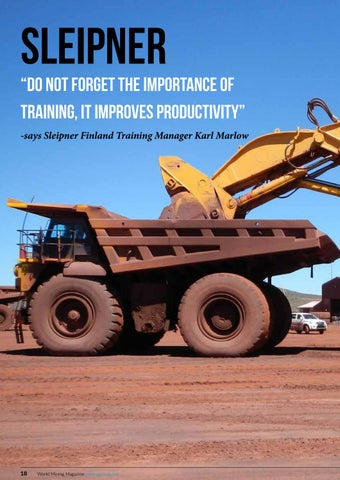 Page 18 of Sleipner: Don't forget the importance of training