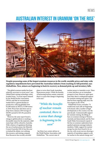 Page 31 of Australian interest in uranium 'on the rise
