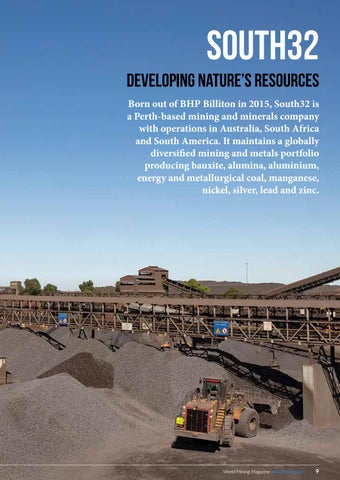 Page 9 of South32: Developing nature's resources