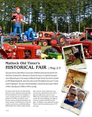 Page 4 of Matlock Old Timer's Historical Fair