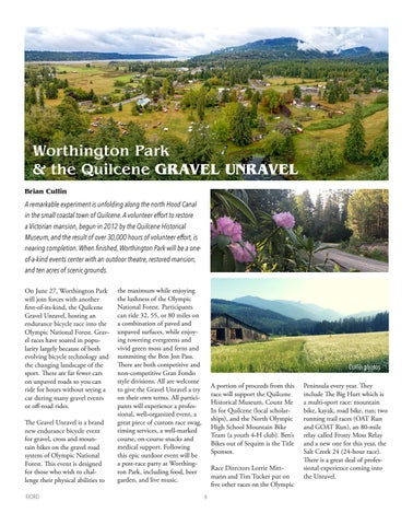Page 6 of Worthington Park & the Quilcene GRAVEL UNRAVEL