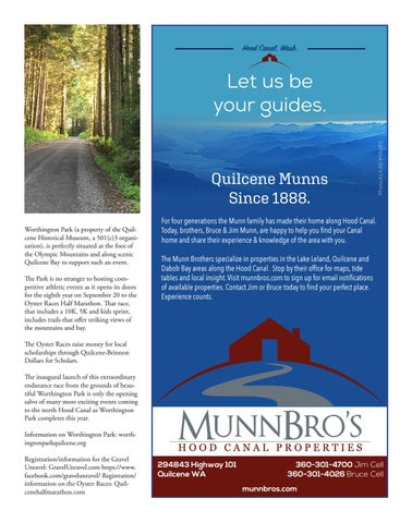 Page 7 of Worthington Park & the Quilcene GRAVEL UNRAVEL