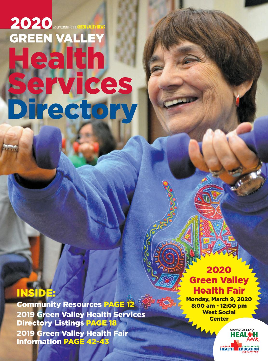 Green Valley Health Services Directory By Wick Communications Issuu