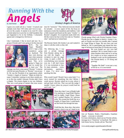 Page 22 of R unning With the Angels
