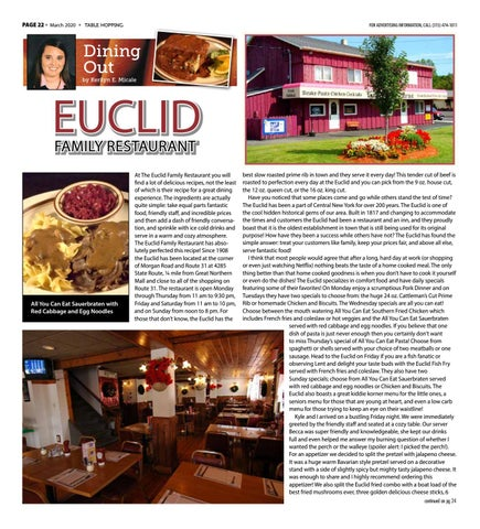 Page 22 of EUCLID FAMILY RESTAURANT