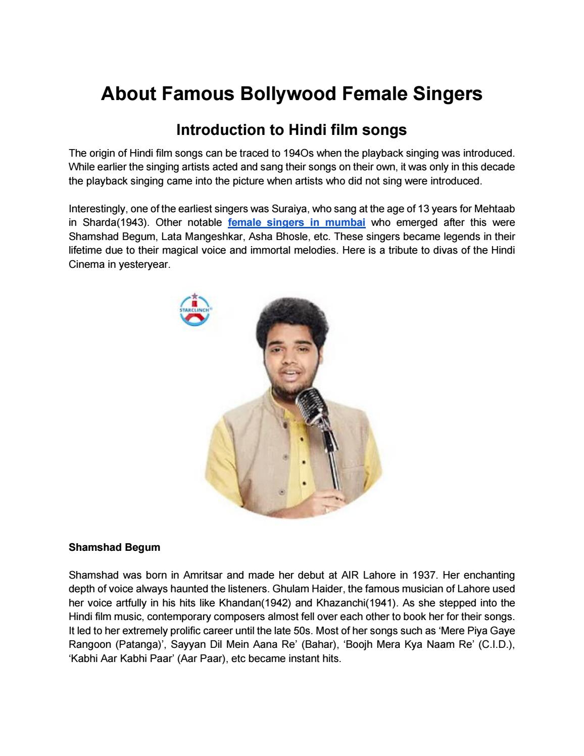 Best Hindi Singer To Book Online At Starclinch By Amit Kumar Issuu I shall remain silent) singers : issuu