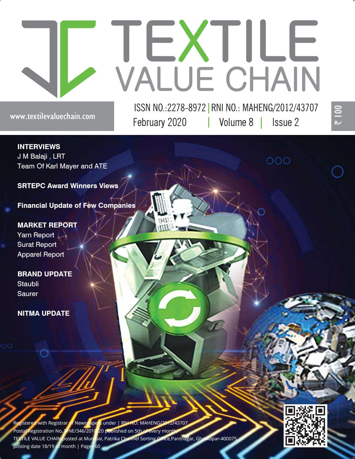 Textile Value Chain Feb Issue 2020 By Textile Value Chain Media Issuu