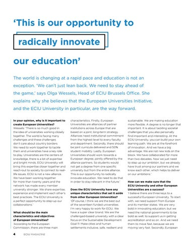 Page 4 of INNOVATE EDUCATION
