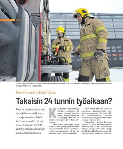 Page 12 of TYÖAIKA Keski-Suomi ja Etelä-Savo takaisin vuorokausirytmiin?